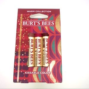 Burt's Bees Lip Shimmers Warm Collection 3 pack